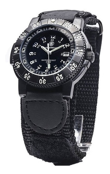 Reloj Smith & Wesson Comando Tactico Tritium Sww357n