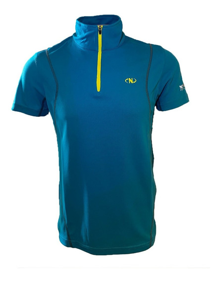 Remera Cooldry Vent Polo Ms Deep Kar Hombre Northland