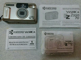 Câmera Digital Yashica Com Zoom Na Caixa