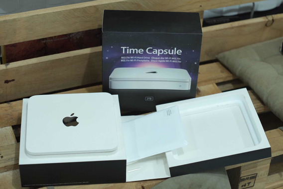 Time Capsule Da Apple - 2tb - Modelo A1355