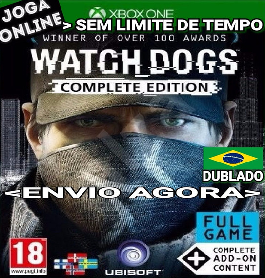 Watch Dogs Complete Ed. Xbox One Online Digital Dublado Ptbr