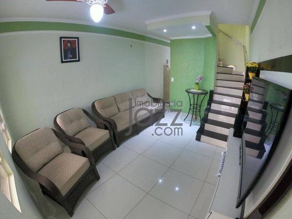 Linda Casa Em Condomínio Com 3 Dormitórios À Venda, 100 M² Por R$ 290.000 - Vila Lunardi - Campinas/sp - Ca5427
