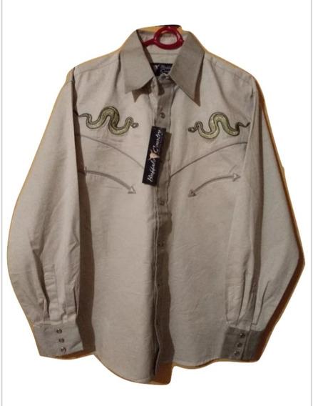 Buffalo Country Camisa Western Para Caballero M.