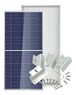 Panel Solar 345w 37v Policristalino Trina Solar + Soportes