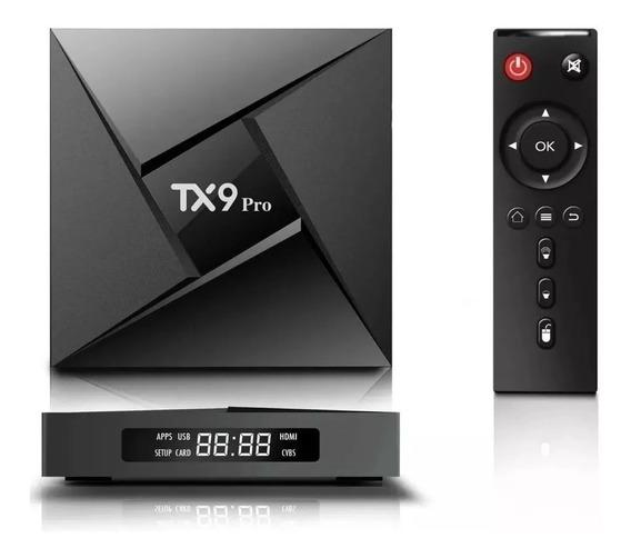 Transforma Tv Smat Tx9 Pro 4 Gb 32gb Rom Octacore Bluetooth