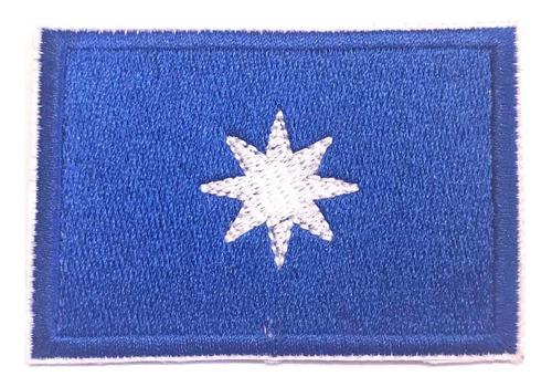 Bandera Wuñelfe Parche Bordado 100%