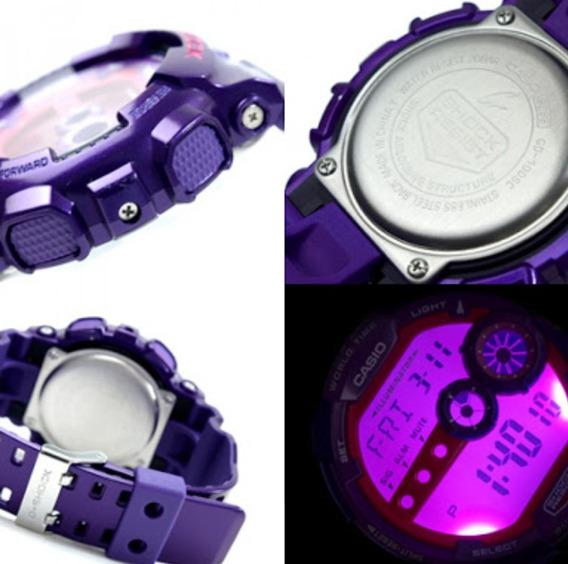 Relógio Casio G-shock Gd-100sc-6-resistência À Água Até 200