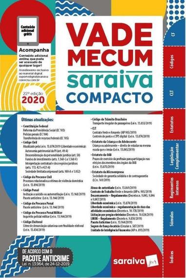 Vade Mecum Compacto 2020 - Saraiva