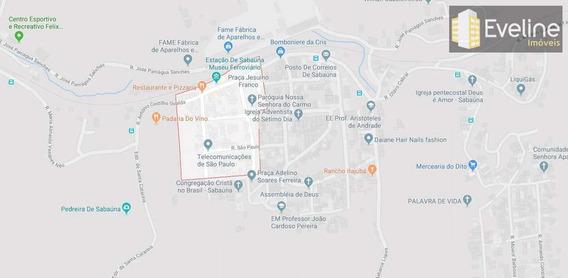 Terreno, Sabaúna, Mogi Das Cruzes - R$ 350 Mil, Cod: 687 - A687