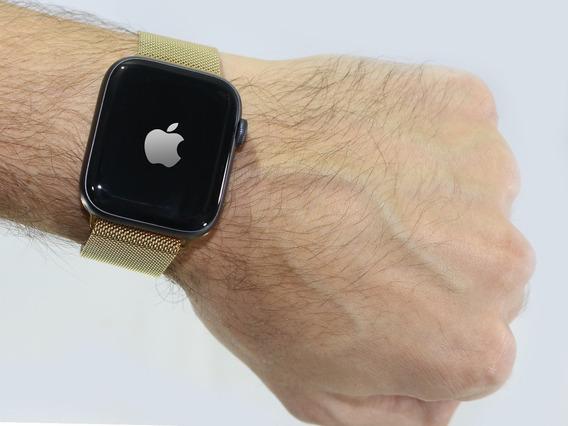 Pulseira Milanese Loop Magnética Para Apple Watch 42mm/44mm