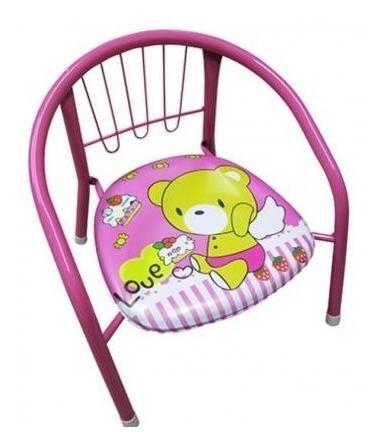 Cadeirinha Infantil Que Apita Quando Senta Cadeira Rosa