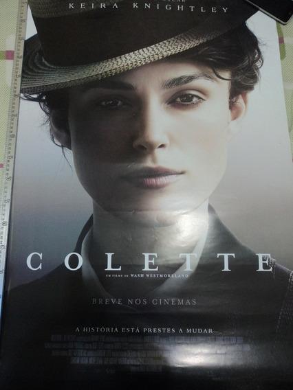 Poster:cartaz:colette:keira Knightley:cinema:93cm X 64cm