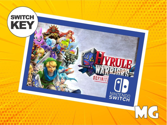 Hyrule Warriors: Definitive Edition - Jogo Nintendo Switch
