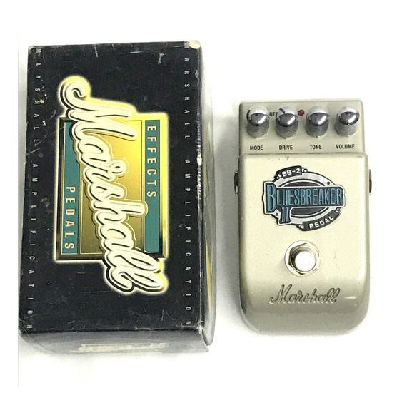 Pedal Marshall Bluesbreaker Ii Overdrive Na Caixa - Usad0!