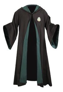 Capa Slytherin Draco Harry Potter *nuevo* Talla Xl Adultos