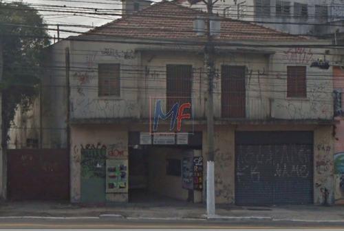 Imagem 1 de 11 de Ref  12.758 Excelente Terreno Localizado No Bairro Tatuapé, Com 1046 M² De A.c, 670 M² De A.t E Frente: 14 M. Zoneamento: Zeup ! - 12758