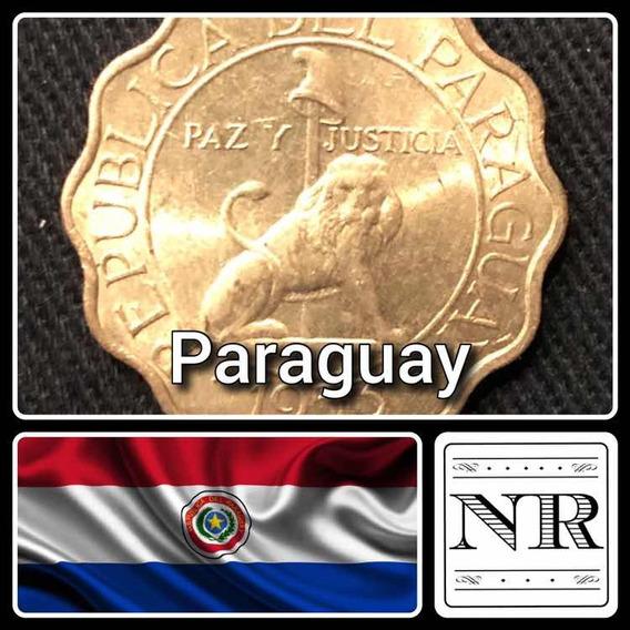 Paraguay - 50 Centimos - Año 1953 - Km # 28 - Alveolada