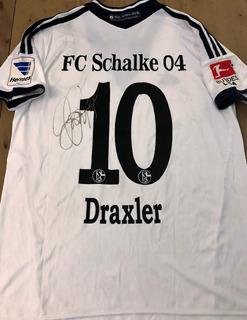 Camisa Do Schalke 04 Autografada Julian Draxler