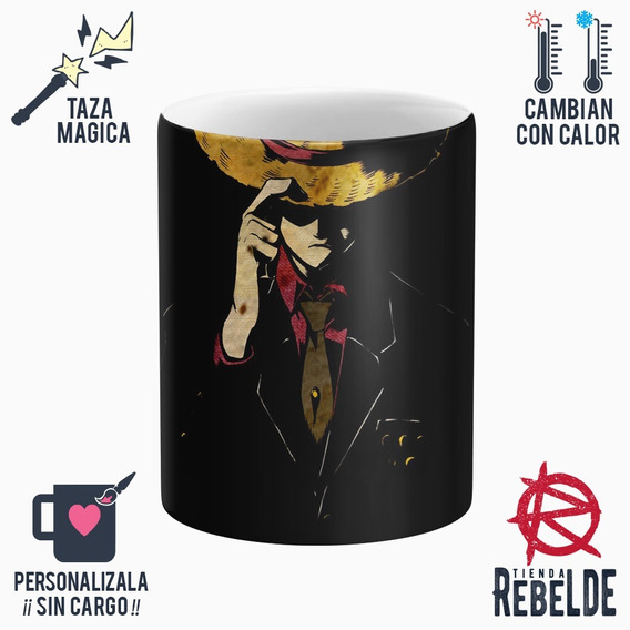 Taza Mágica - Luffy One Piece