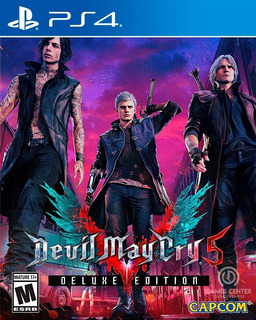 Devil May Cry 5 Deluxe Edition Ps4 Digital Gcp