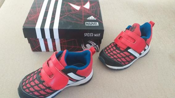 Tênis Infantil Tam 23 Spiderman E Nike Original Tam 21/22