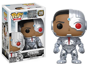 Funko Pop Heroes #209 Justice League Cyborg Dakentoys