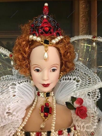 Queen Elizabeth I Barbie - Gold Label -2004 Women Of Royalty