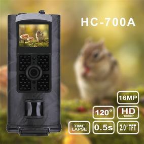 Câmera De Trilha Câmera De Caça Com Visor Lcd Hc700a