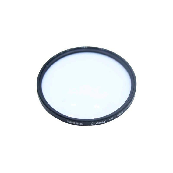 Filtro Close Up +4 Para Objetivas 49mm Canon Nikon Sony