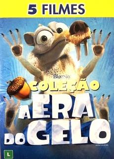 Dvd Box Coleção A Era Do Gelo - 5 Filmes - Original Lacrado