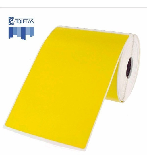 Rollo Color Etiqueta Autoadhesiva 100x150 Mm 350u Elección