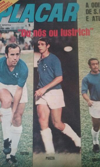 Revista Placar N 99 Com Figurinhas E Com.poster Central