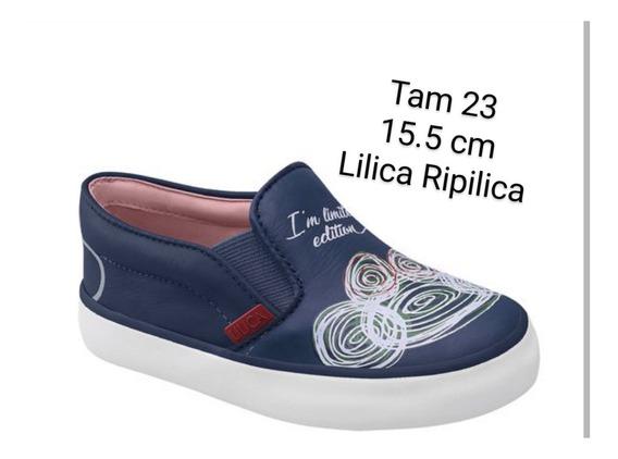 Tênis Lilica Ripilica Slip On Abstrato