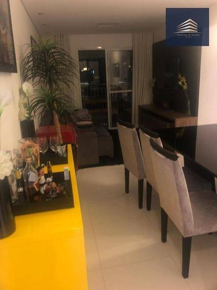 Apartamento Na Vila Augusta, Condomínio Suprema 75m², 3 Dormitórios, 1 Suíte, 2 Vagas. - Ap0783