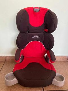 Autoasiento Infantil Booster Con Respaldo Graco Usado