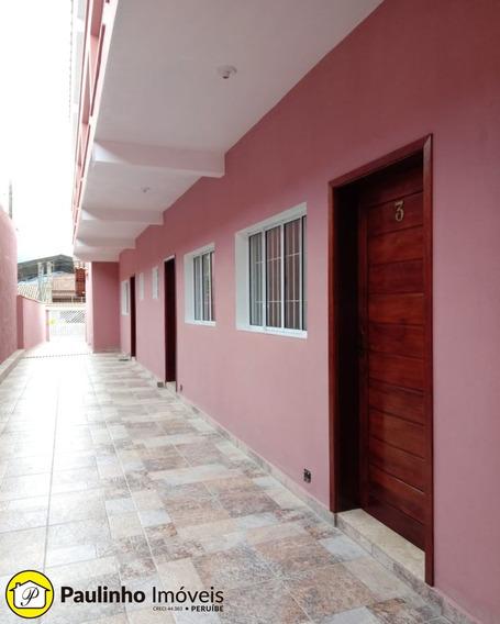 Kitnet No Centro De Peruíbe Para Locação Definitiva - Ap00698 - 34375952