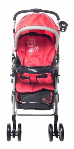 Carriola Mecedora Sit & Rock Black/red, Infanti