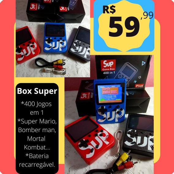 Sup Game Retro Box 400 In 1 Plus Nintendo