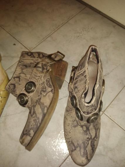 Lote Zapatos Cuero Hermoso