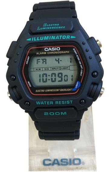 Relógio Casio Dw-290 Alarme Cronometro Caixa Original Nf