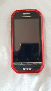 Celular Moto. I867 Ferrari Ediçao Especial Sucata Ref: R353