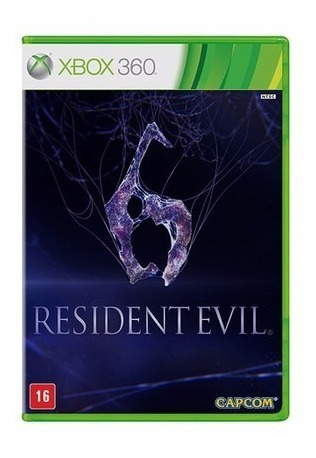 Resident Evil 6 - Xbox 360 - Novo Lacrado - Original