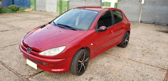 Peugeot 206 Soleil 1.6 5p 110cv / Vermelho Bordo