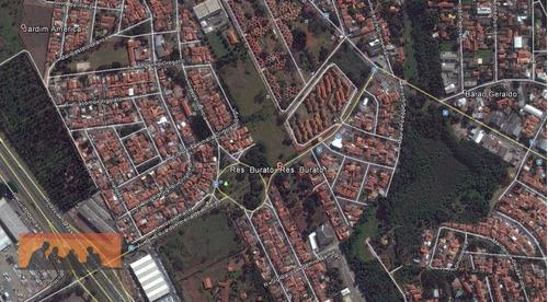 Imagem 1 de 1 de Terreno Residencial À Venda, Residencial Burato, Campinas - Te0153. - Te0153