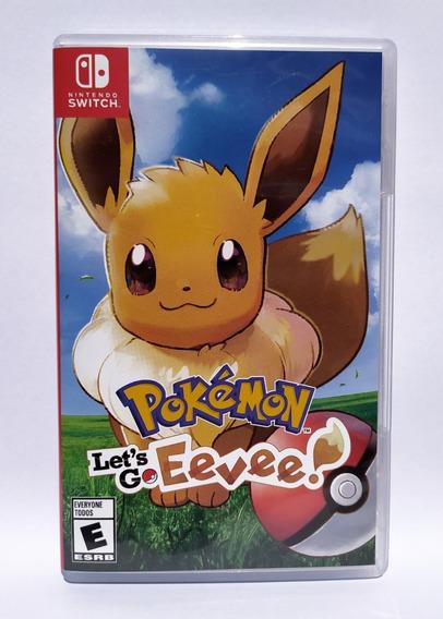 Jogo Pokémon Let´s Go Eevee Nintendo Switch
