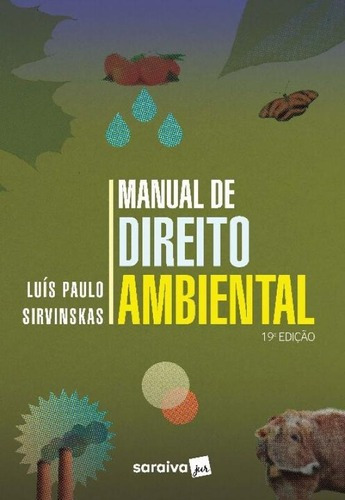 Imagem 1 de 1 de Manual De Direito Ambiental 19ª 2021
