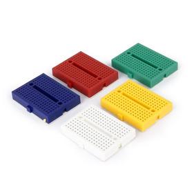 Mini Protoboard 170 Furos Diversas Cores Arduino *940101