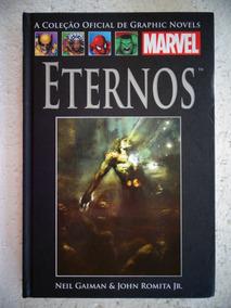 Coleção Graphic Novels Marvel Nº 54! Eternos!