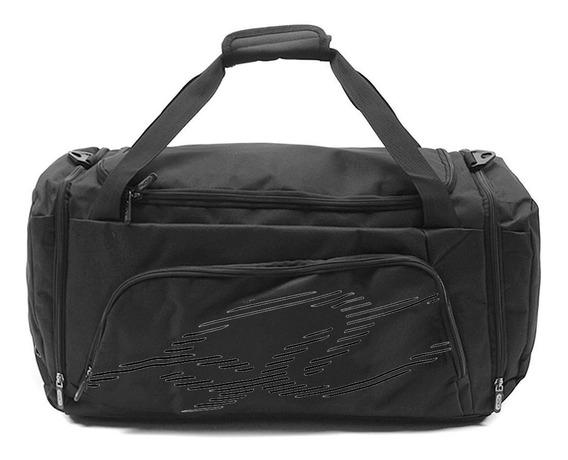 Bolsa De Viagem Olympikus Gym Bag Line 50 Cm Preta