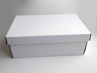 Cajas Para Zapatos De Cartón Modelo Bota Grande (28x31x11)